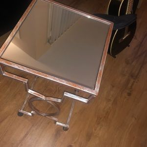 Other - Mirrored Side Table / Night Stand